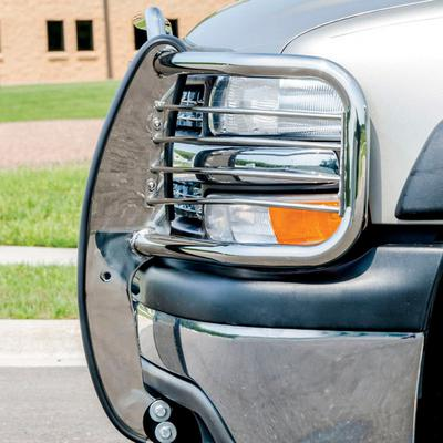Aries Offroad Grille Guard (Polished) - 4090-2