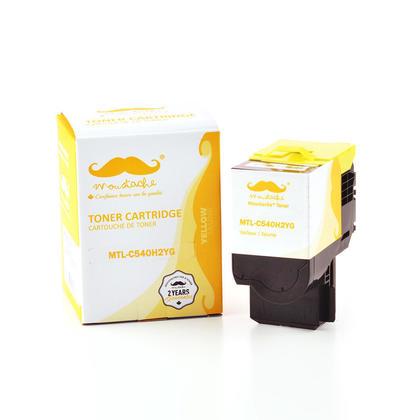Lexmark C540H2YG cartouche de toner compatible jaune haute capacité - Moustache®