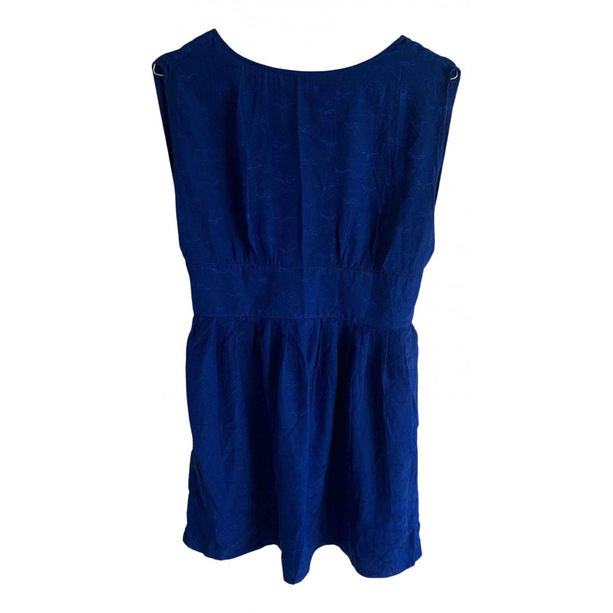 Sessun \N Blue Silk dress for Women M International