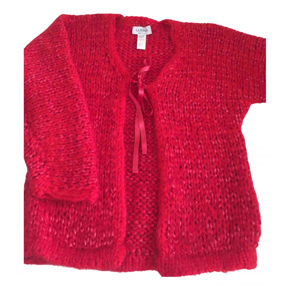La Perla \N Red Wool Knitwear for Women 44 IT