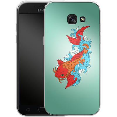 Samsung Galaxy A5 (2017) Silikon Handyhuelle - Koi Carp von Mark Ashkenazi