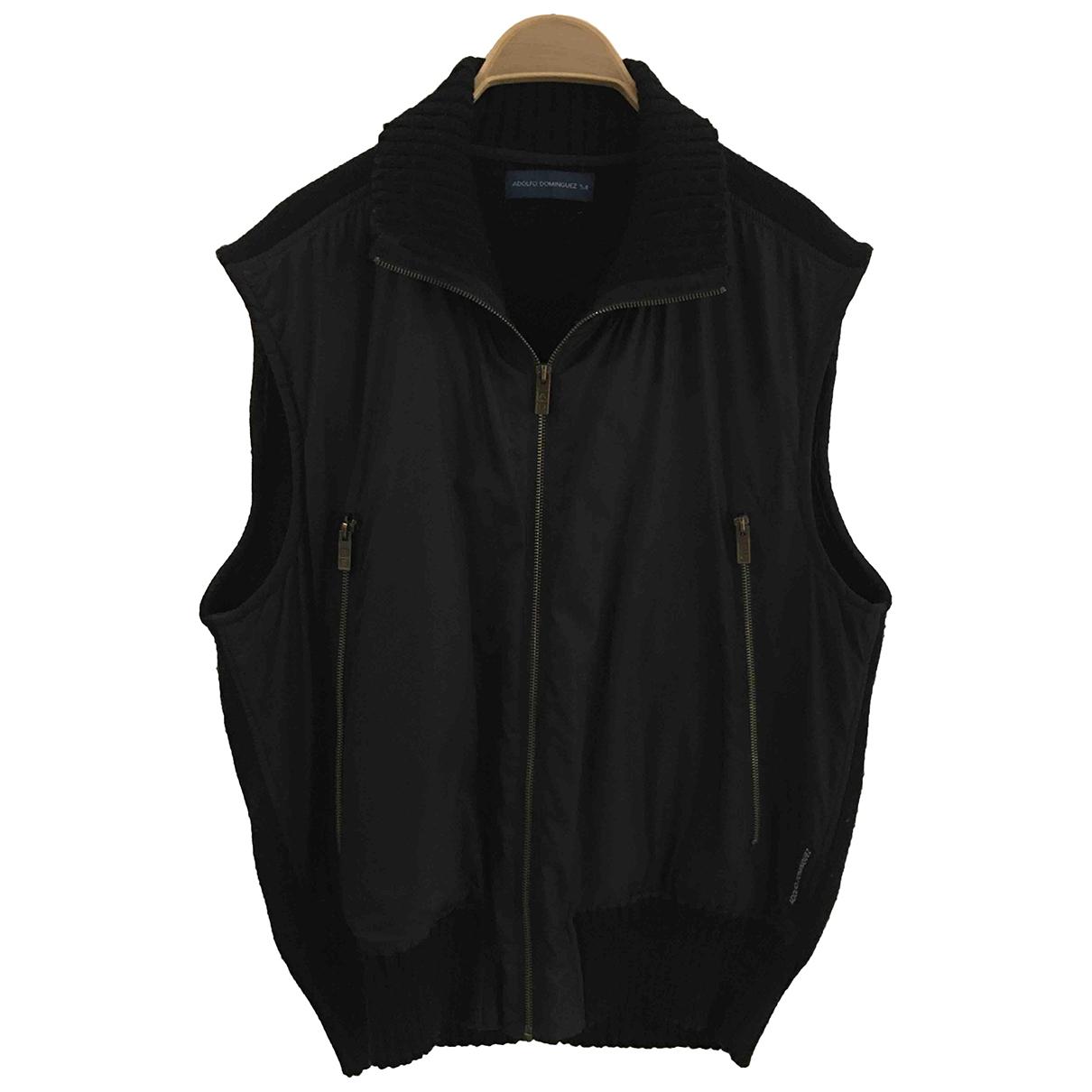 Adolfo Dominguez N Black jacket  for Men 54 FR