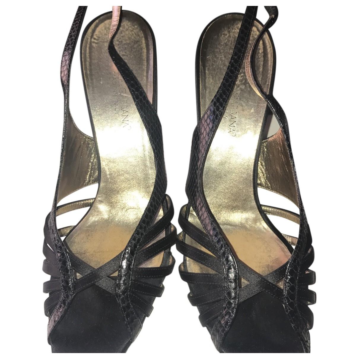 Dolce & Gabbana \N Pumps in  Schwarz Python