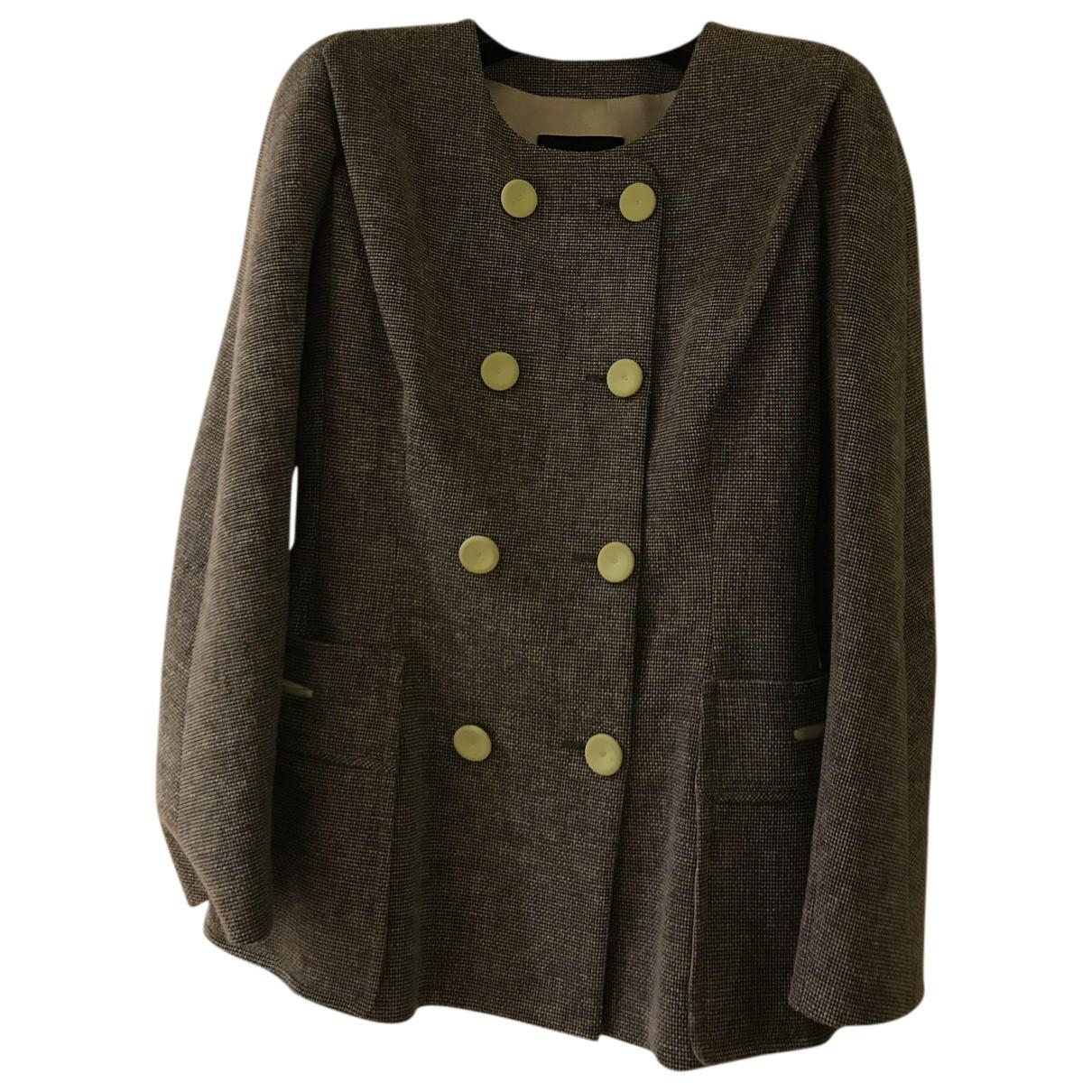 Giorgio Armani N Cotton jacket for Women 38 IT