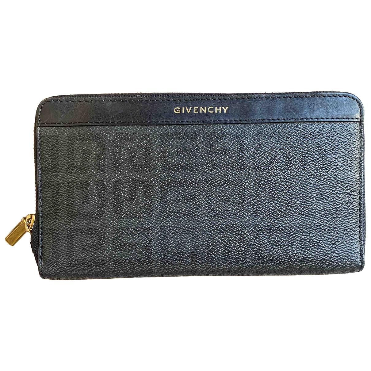 Givenchy - Portefeuille   pour femme en cuir - noir