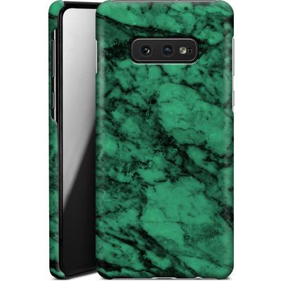 Samsung Galaxy S10e Smartphone Huelle - Green Marble von caseable Designs