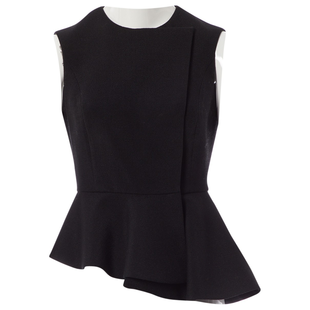 Yves Saint Laurent \N Black Wool  top for Women 38 FR