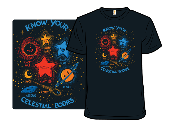 Know Your Celestial Bodies T Shirt
