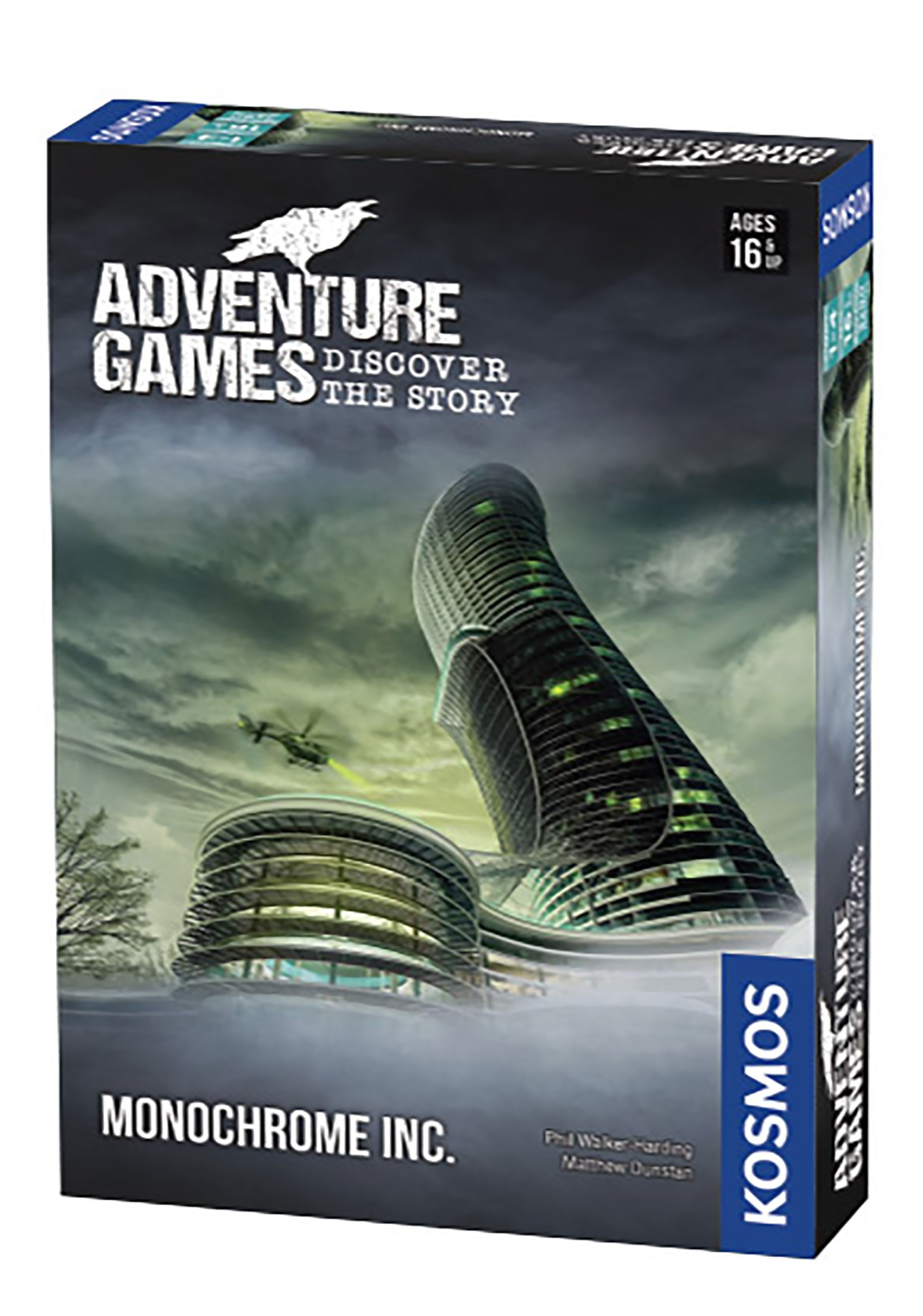 Adventure Games Discover the Story: Monochrome Inc.