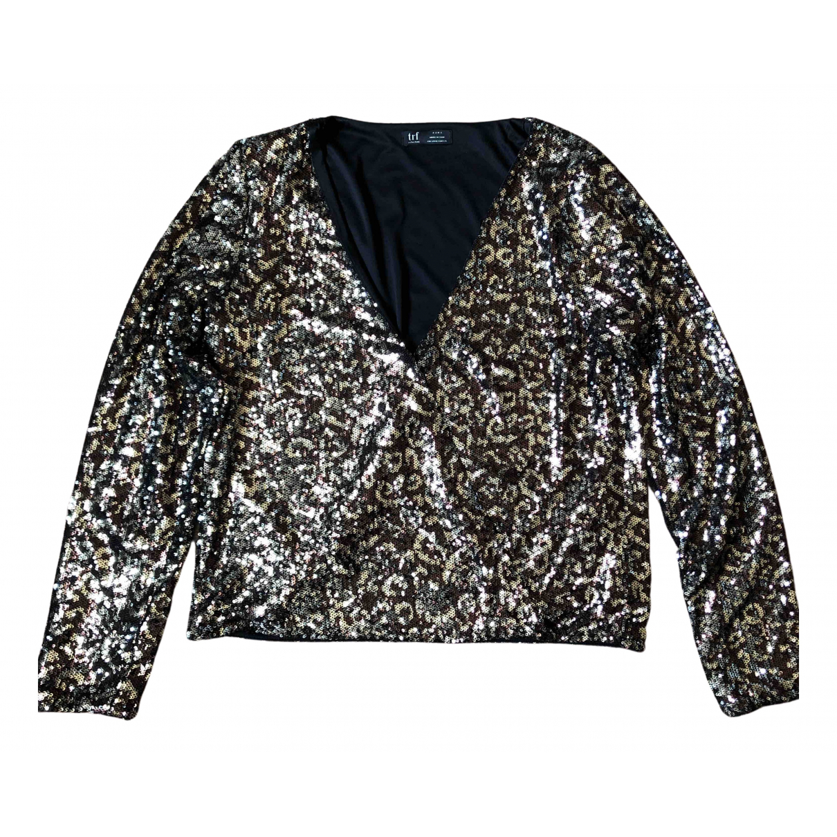 Zara N Metallic Glitter  top for Women S International