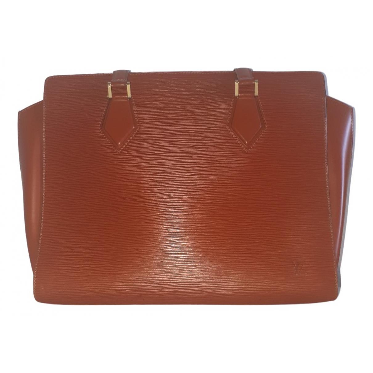 Louis Vuitton Voltaire Camel Leather handbag for Women \N