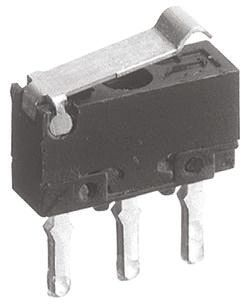 Panasonic SPDT Simulated Roller Lever Microswitch, 100 mA @ 30 V dc