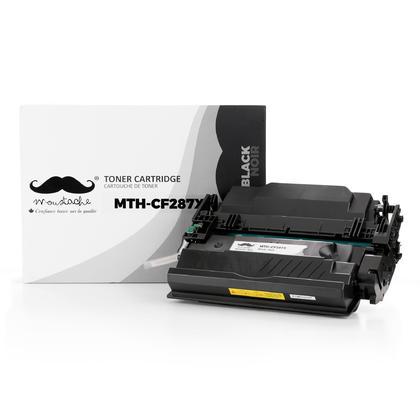 Compatible HP LaserJet Enterprise Flow MFP M527C Black Toner Cartridge High Yield - Moustache