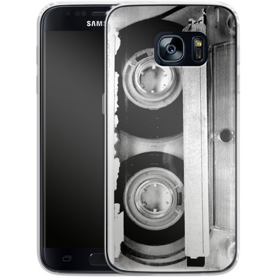Samsung Galaxy S7 Silikon Handyhuelle - Mixtape One von Claus-Peter Schops