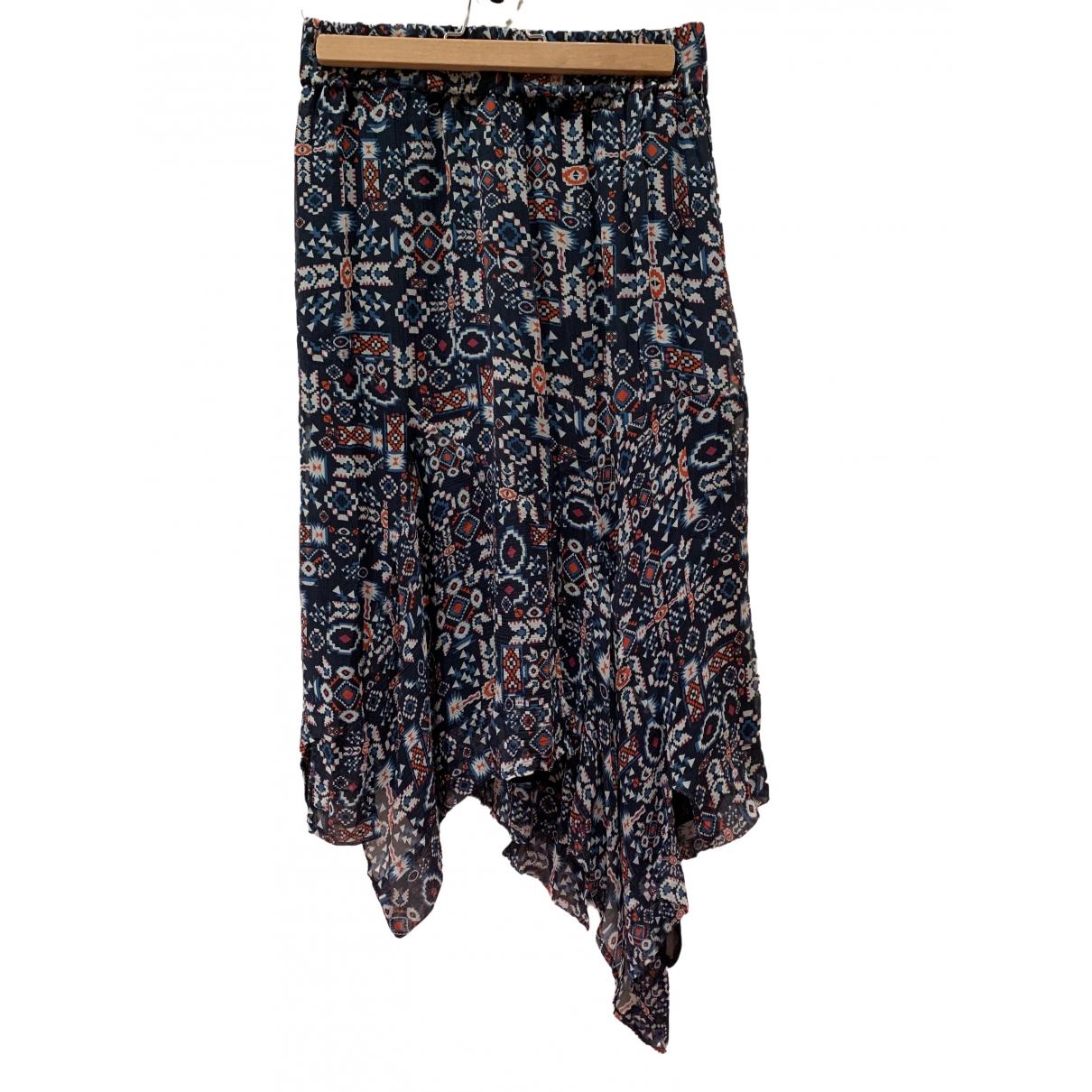 Isabel Marant Etoile \N Multicolour Silk skirt for Women 38 FR