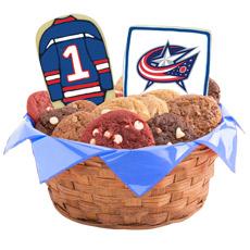 NHL Columbus Blue Jackets Cookie Basket