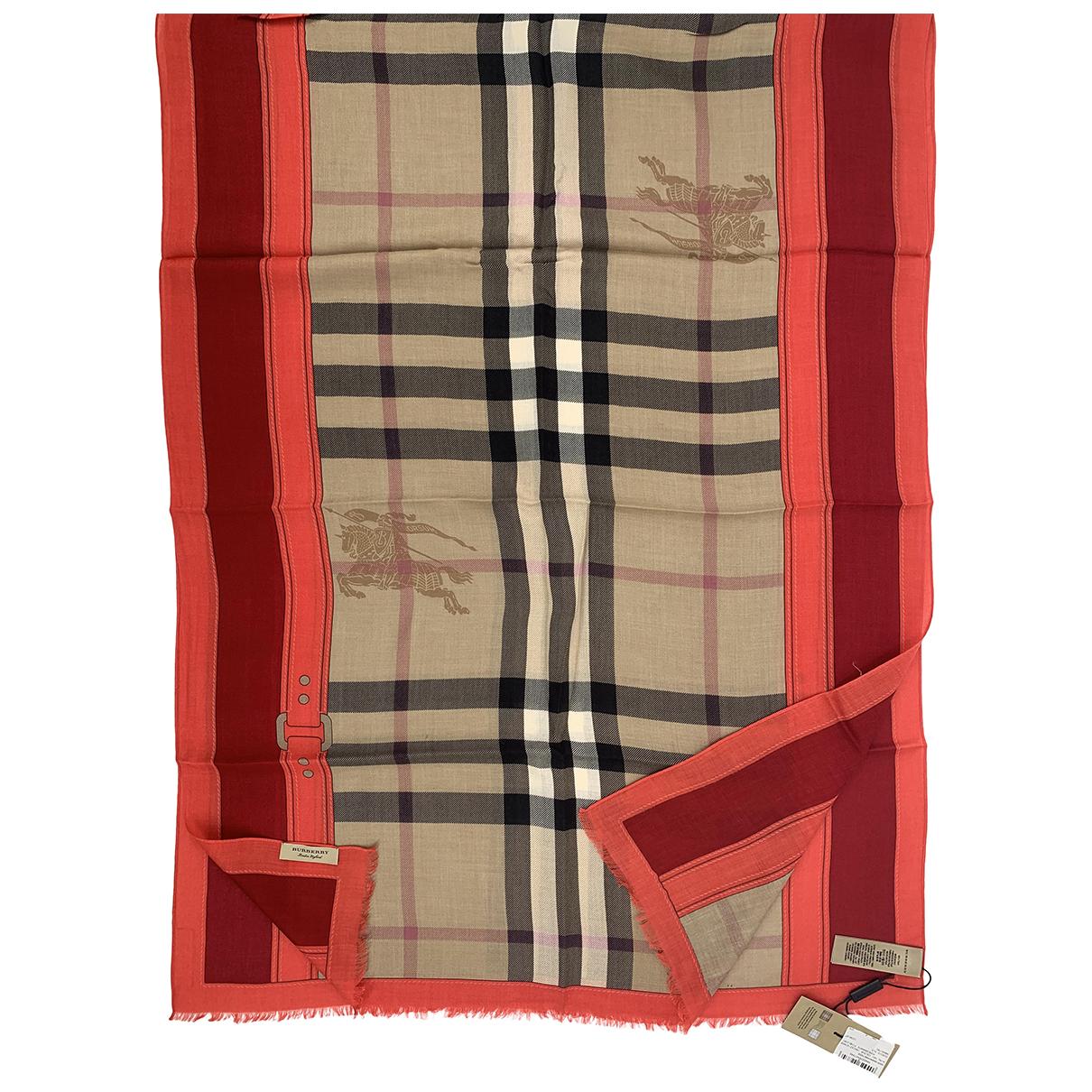 Burberry - Foulard   pour femme en cachemire - multicolore