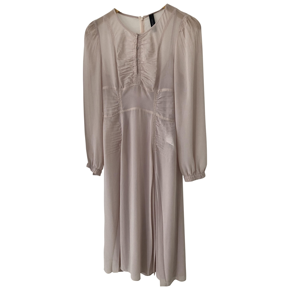 Marc Cain \N Kleid in  Rosa Polyester