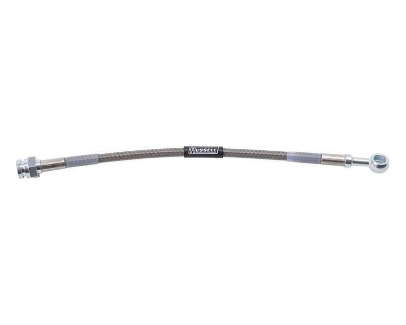 Russell BRAKE HOSE UNIVERSAL 10MM 3/8in. TO 3/8in.-24 IF 16in. OAL