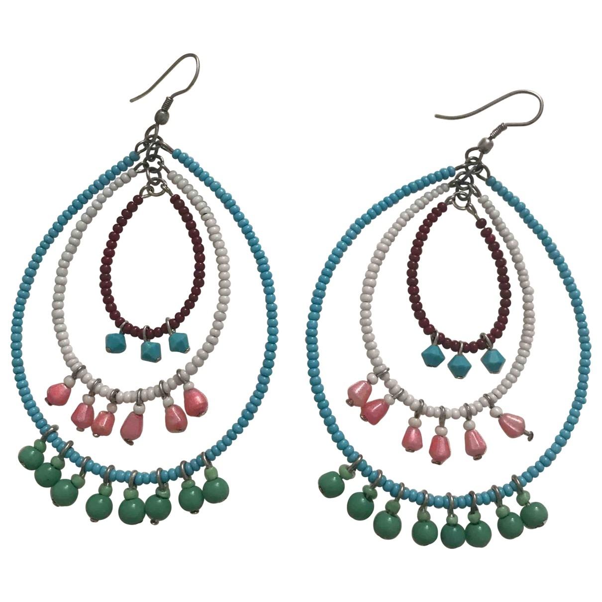 - Boucles doreilles   pour femme en autre - multicolore