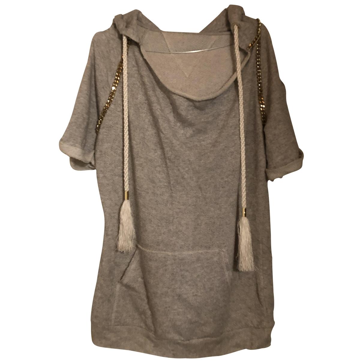 Elisabetta Franchi \N Grey Cotton Knitwear for Women 40 IT