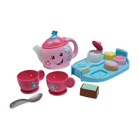 Fisher-Price Laugh & Learn Sweet Manners Tea Set, One Size , No Color Family