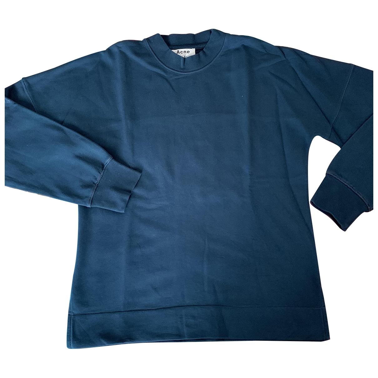 Acne Studios \N Green Cotton Knitwear & Sweatshirts for Men XS International