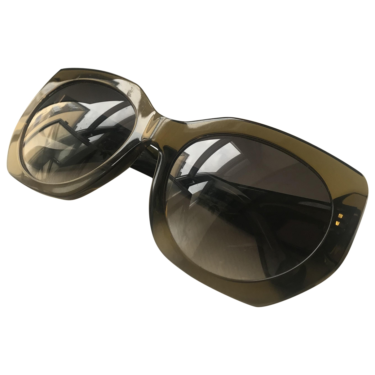 Balenciaga \N Green Sunglasses for Women \N