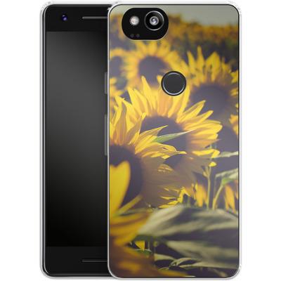 Google Pixel 2 Silikon Handyhuelle - Sunflower 2 von Joy StClaire