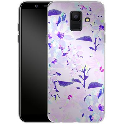 Samsung Galaxy A6 Silikon Handyhuelle - Hyper Garden von Zala Farah
