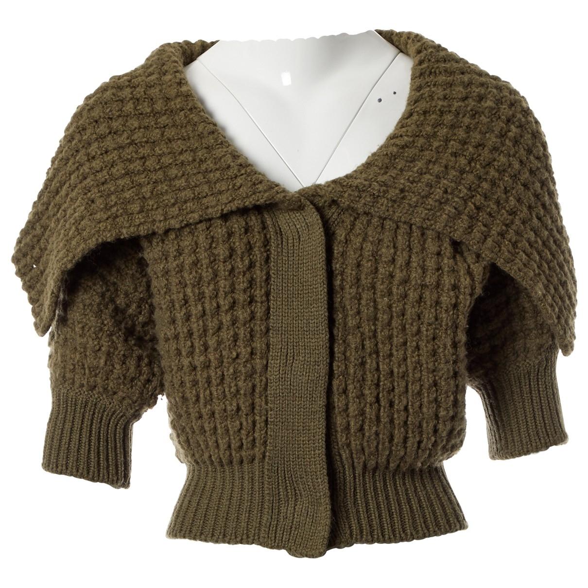 Stella Mccartney - Pull   pour femme en laine - kaki