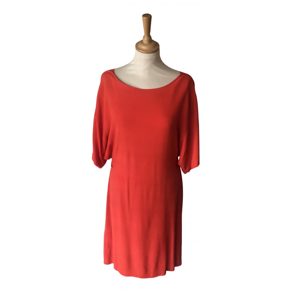 See By Chloe \N Kleid in  Rot Baumwolle