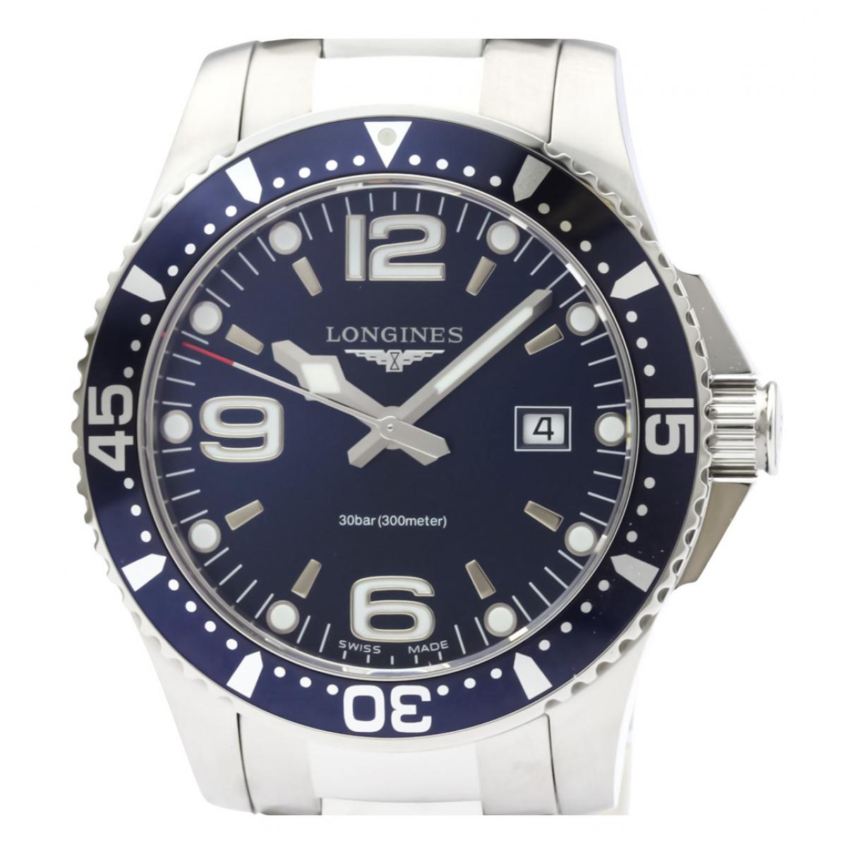Longines Conquest  Uhr in  Blau Stahl