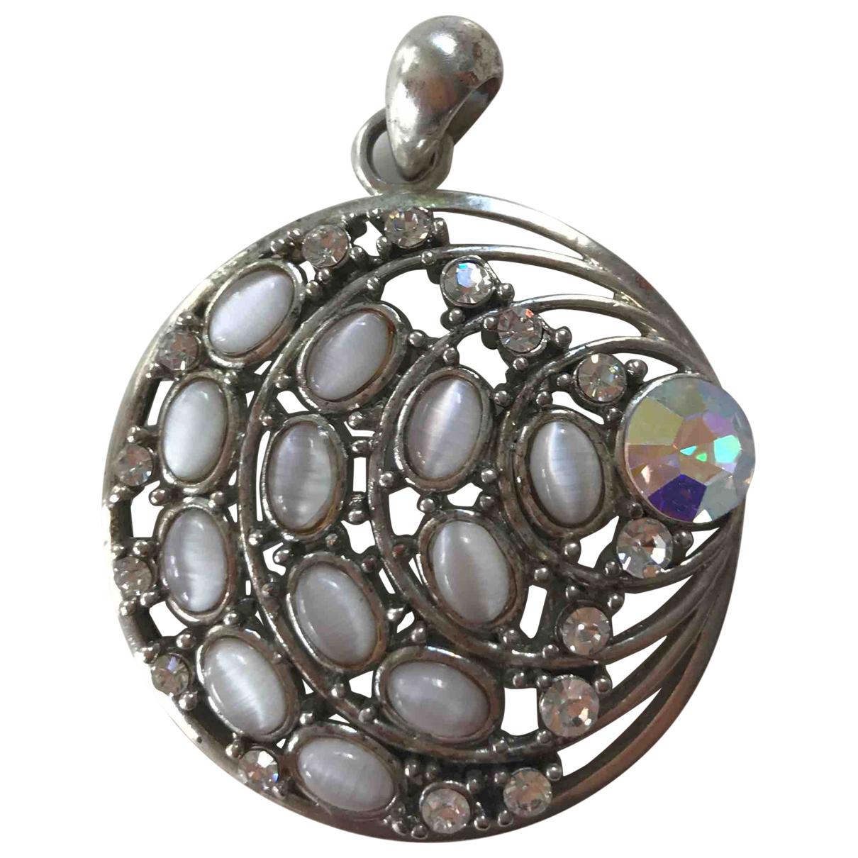 - Pendentif Medailles pour femme en metal - argente