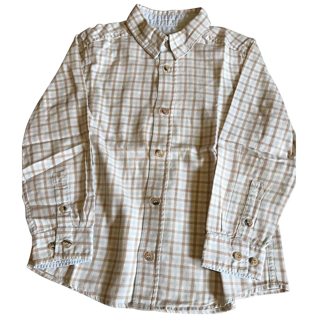 Cyrillus - Top   pour enfant en coton - beige