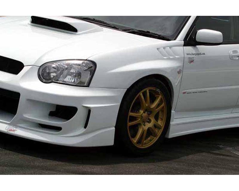 ChargeSpeed CS977FFD D-1 Front Fenders 20mm with Duct Subaru WRX STI 02-05