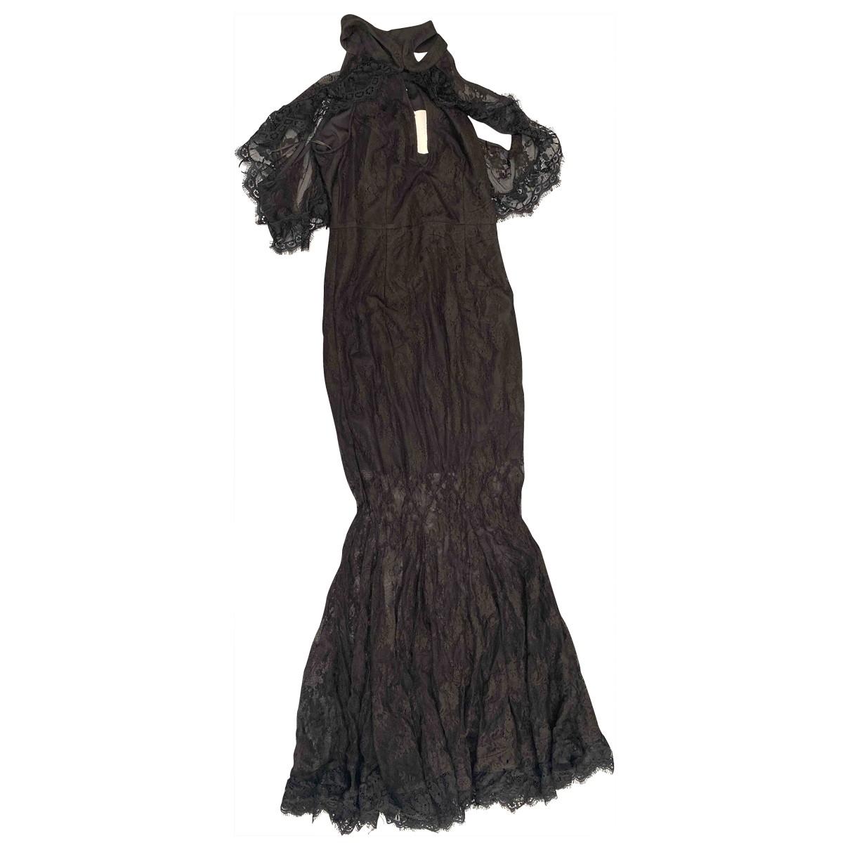 La Maison Talulah \N Black Cotton dress for Women S International