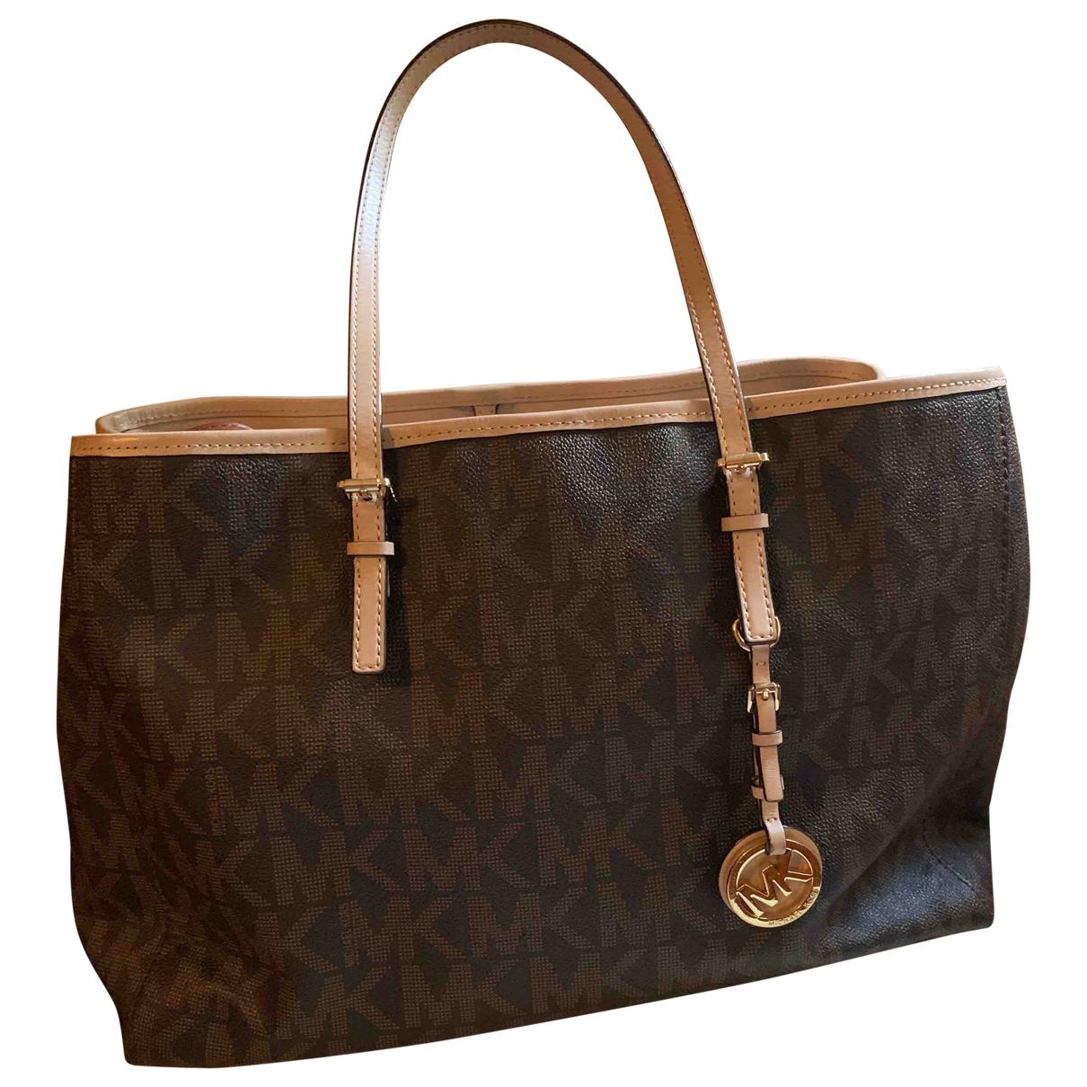 Michael Kors Jet Set Brown Leather handbag for Women \N
