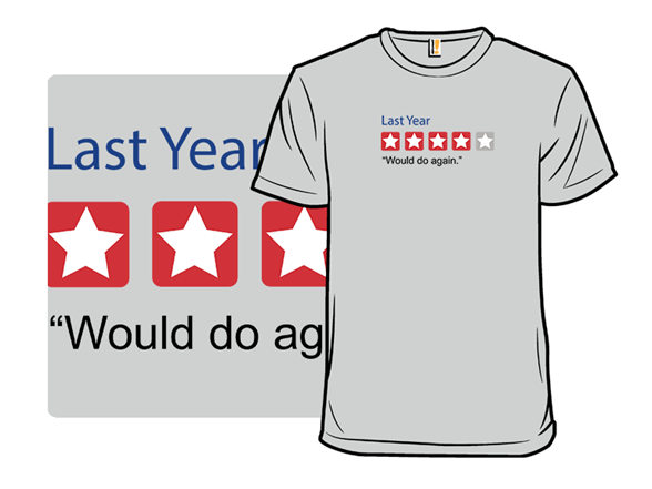 Four Star Year In Review T Shirt
