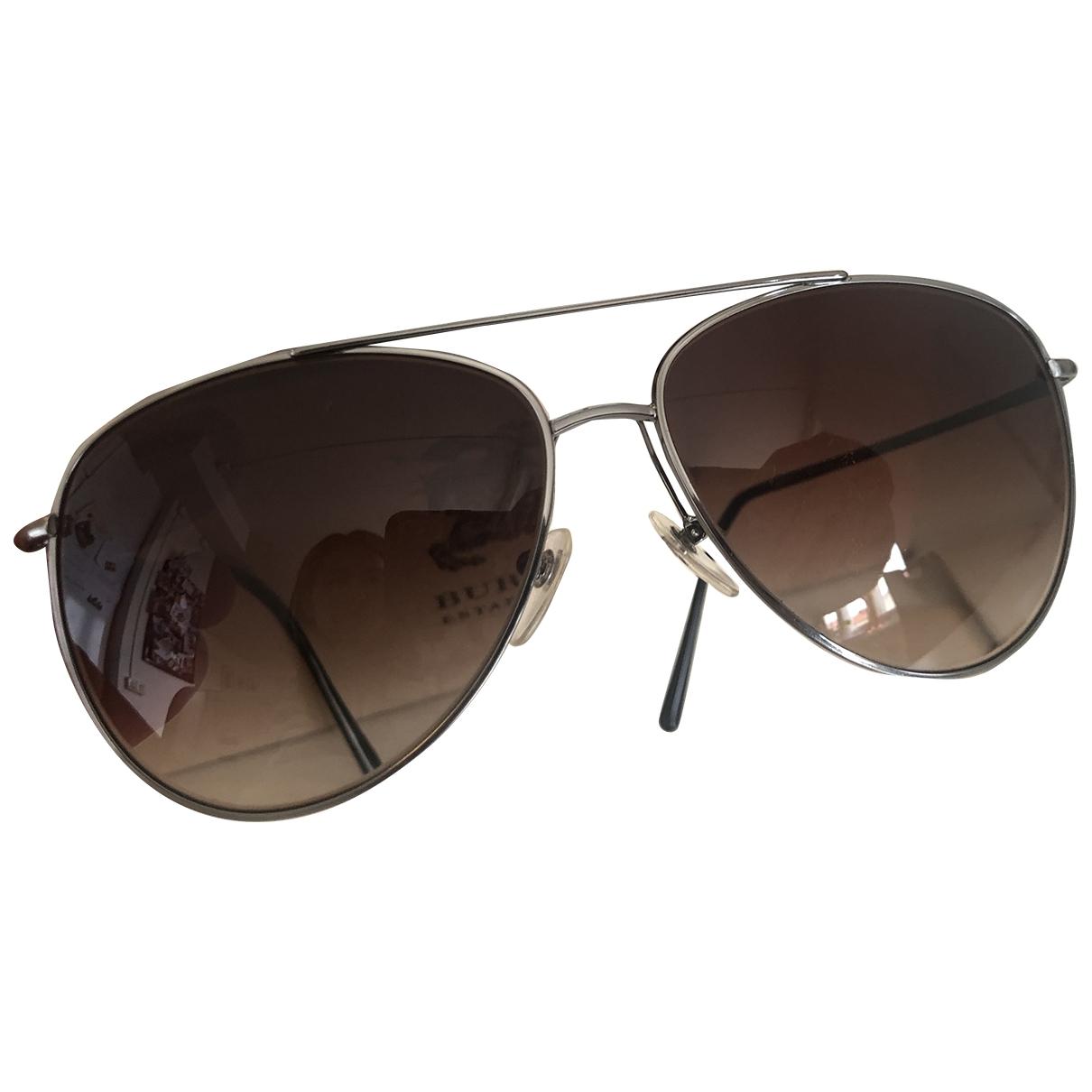 Burberry \N Sonnenbrillen in  Schwarz Metall
