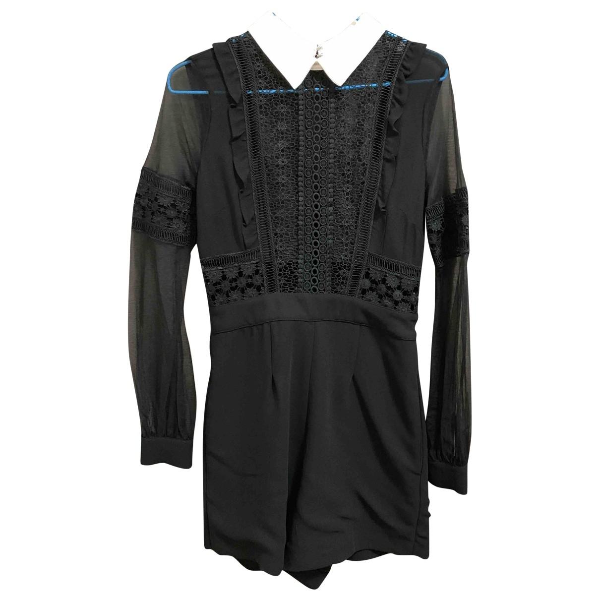 Self Portrait \N Black jumpsuit for Women 6 UK