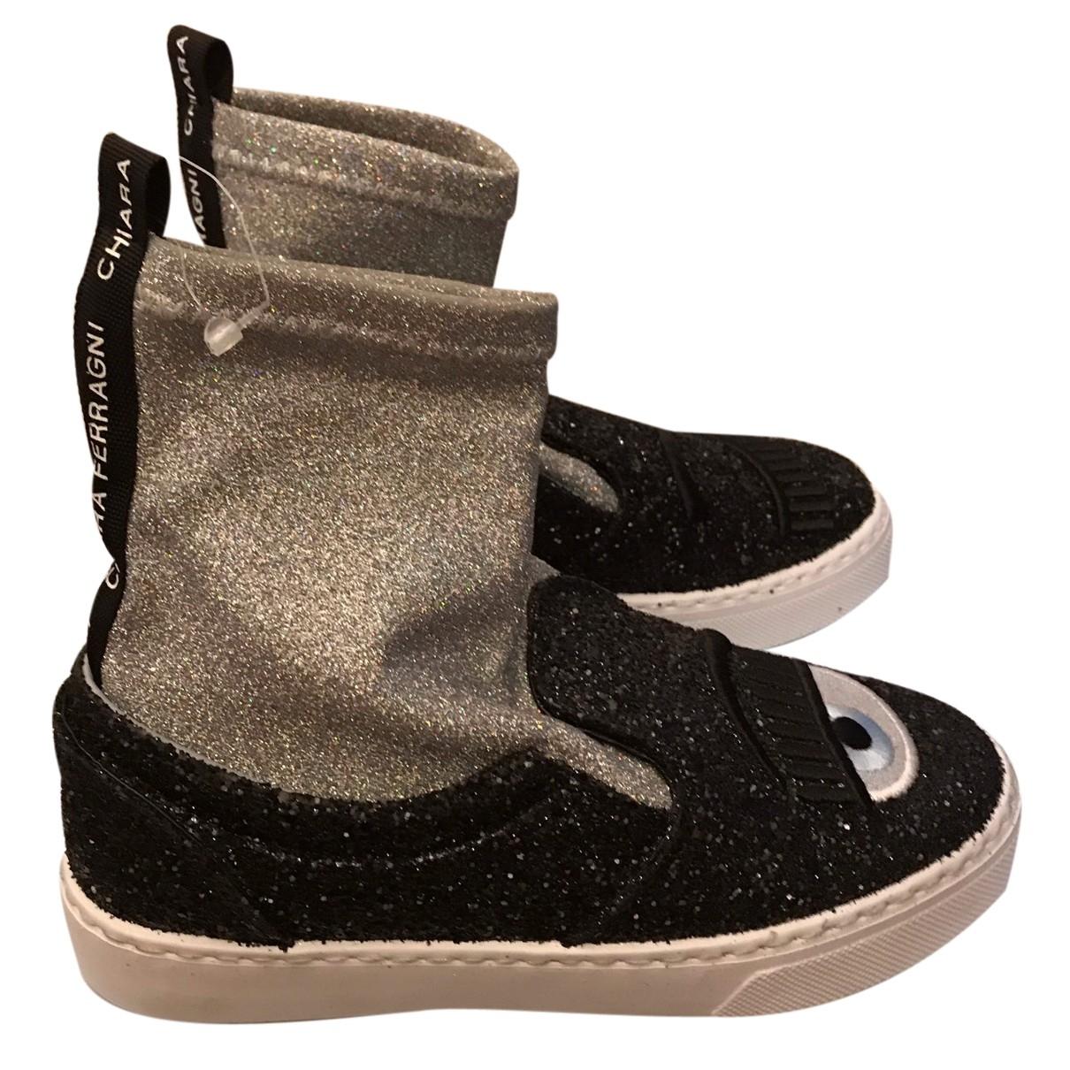 Chiara Ferragni \N Sneakers in  Bunt Mit Pailletten
