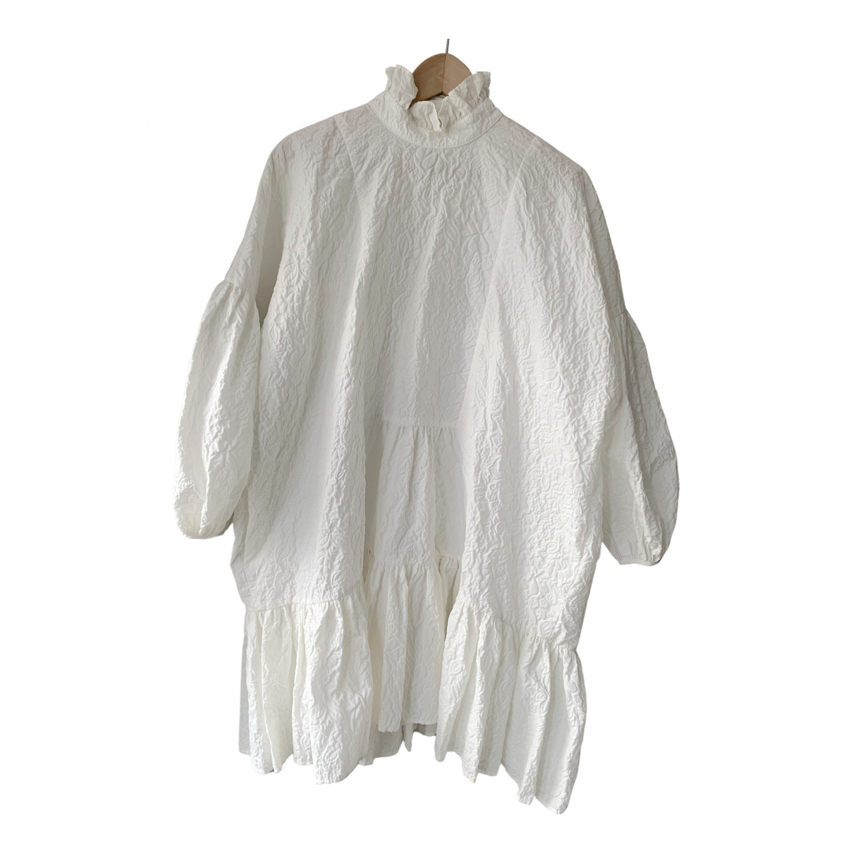 Cecilie Bahnsen N White Cotton dress for Women 6 UK