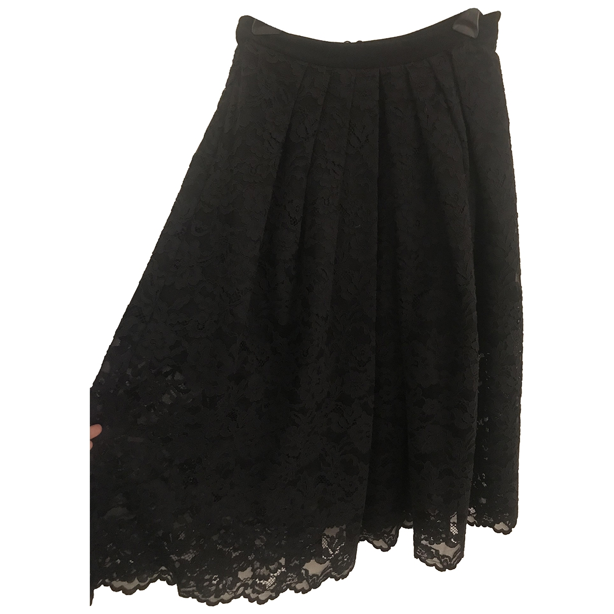 Tibi \N Black Cotton skirt for Women 8 US