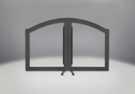 H335-1K Arched Black Double