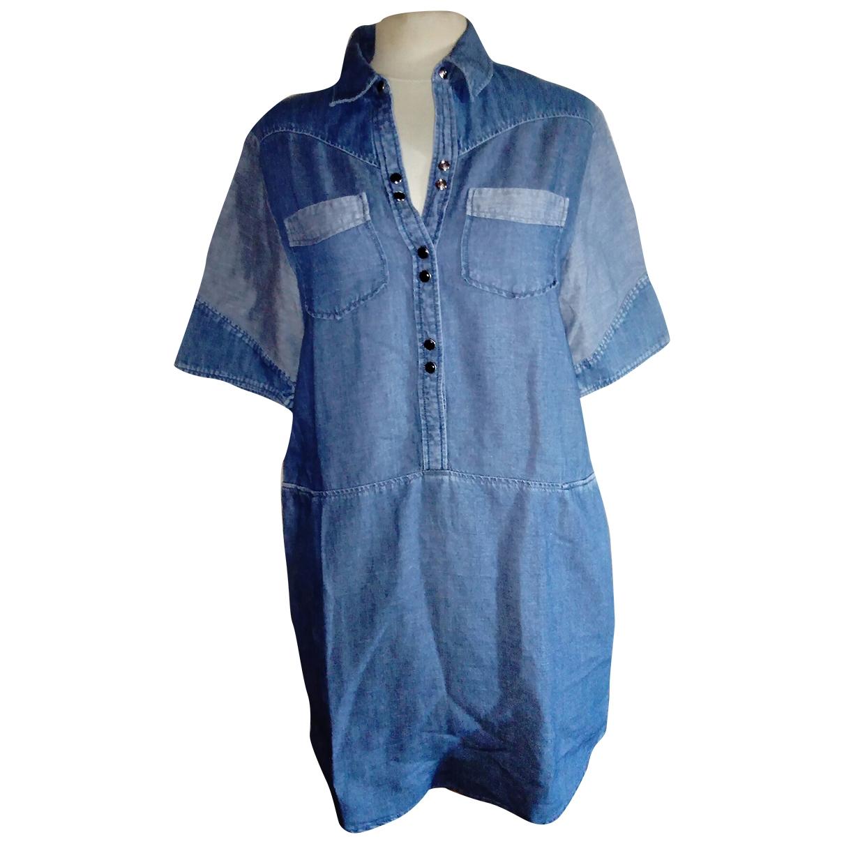 Maje \N Blue Denim - Jeans dress for Women 36 FR