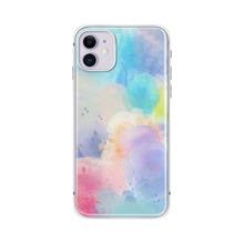 1 pieza funda de iphone de color combinado