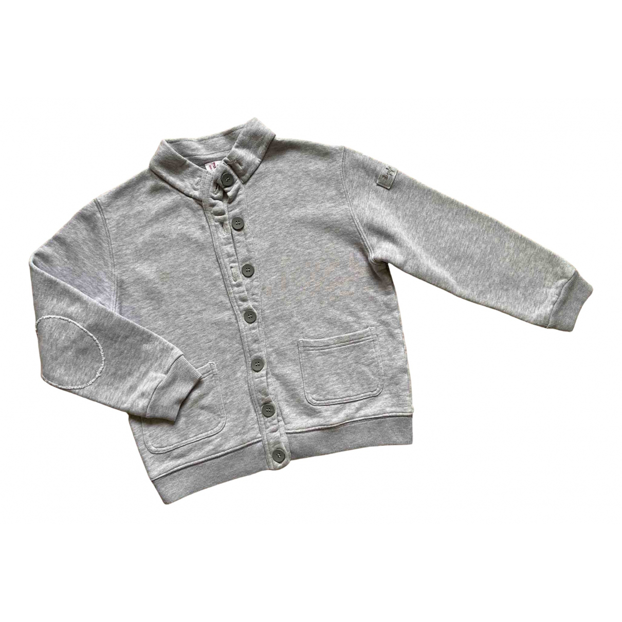 Il Gufo N Grey Cotton Knitwear for Kids 8 years - up to 128cm FR