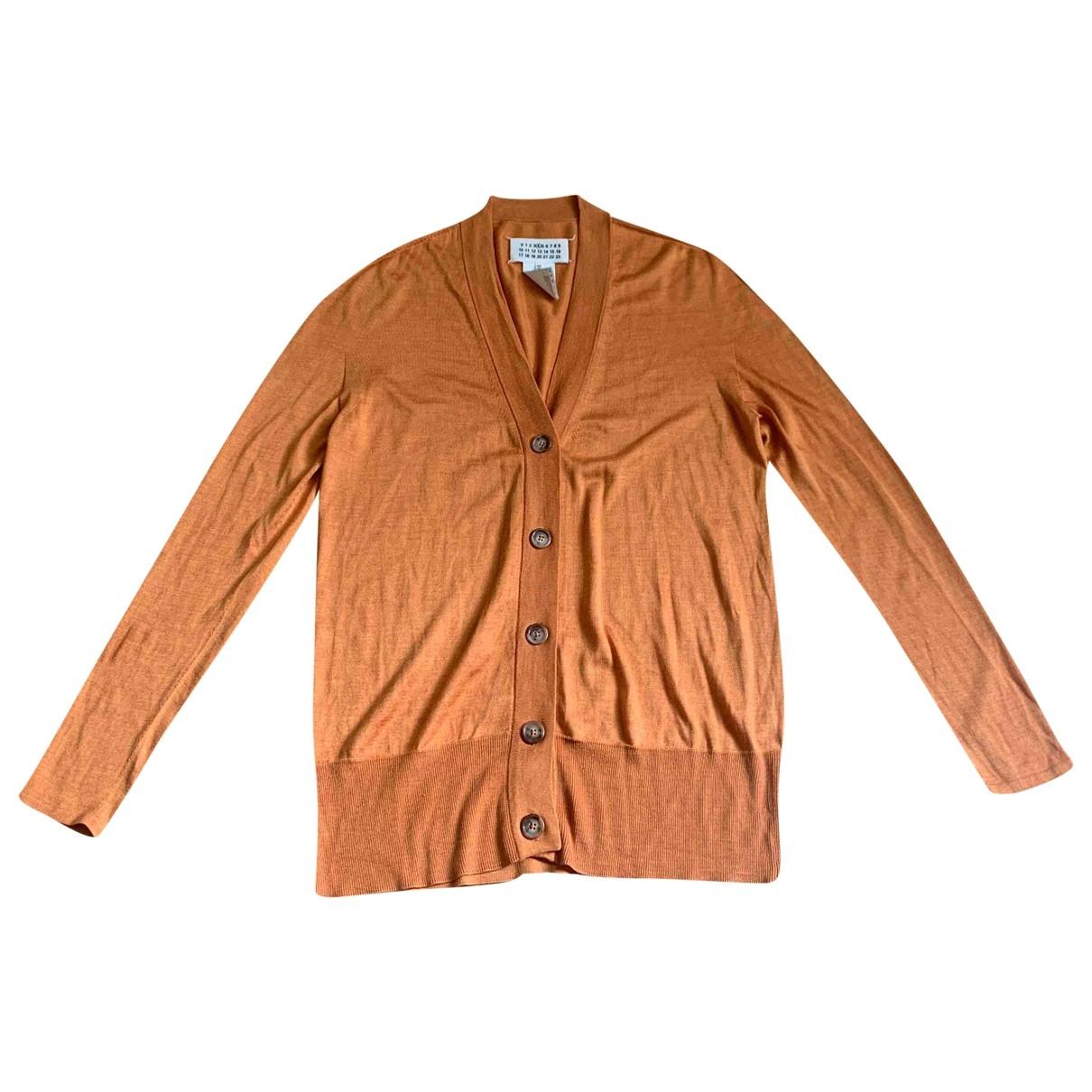 Maison Martin Margiela \N Orange Silk Knitwear for Women 4 0-5