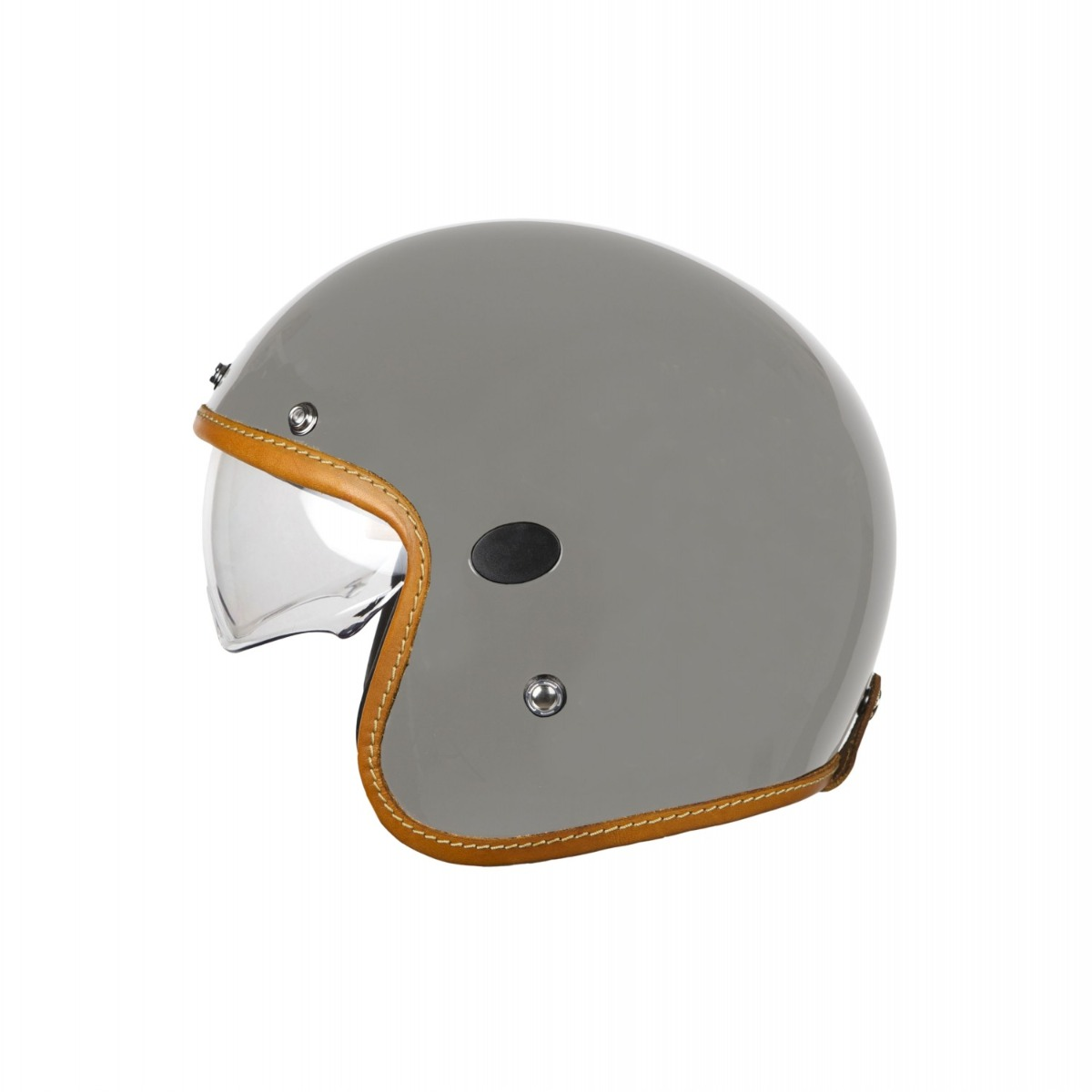 Helstons Naked Carbon Fiber Grey Jet Helmet M